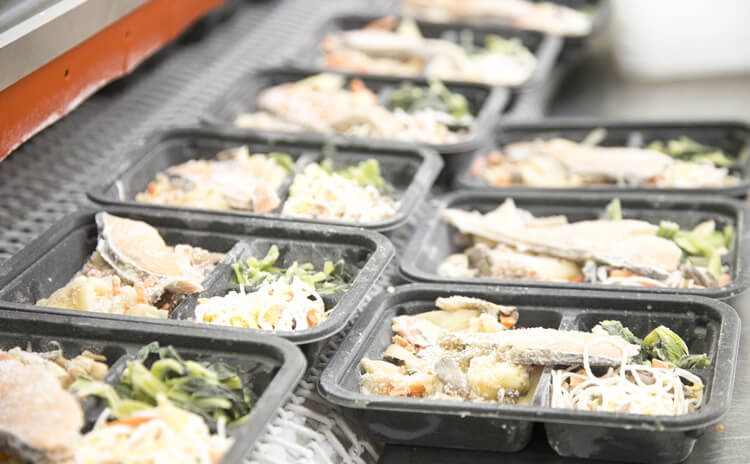 独自の冷凍技術を開発 できたての美味しさを食卓へ